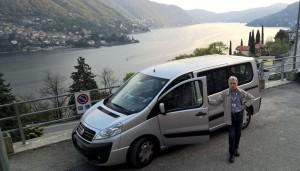Visit Lake Como on a comfortable van !
