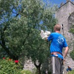 Vezio Castle falconry