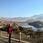 Passagem aérea Lago de Como