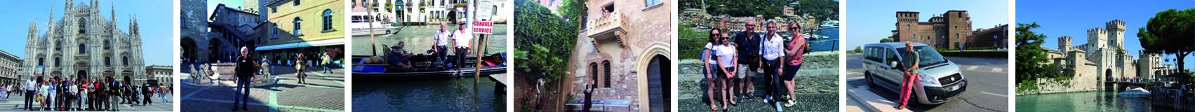 Norte da Itália visitas guiadas Tours