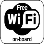 Free WiFi on board