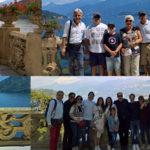Panoramic view on Lake Como