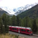 The Morteratsch glacier