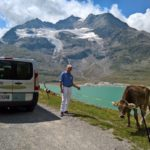 Enconters on the Bernina route