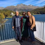 Happy couples in Sankt Moritz