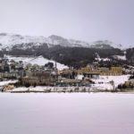 Vista invernale di Sankt Moritz
