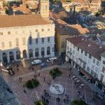Bergamo Piazza Vecchia view from Campanone