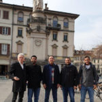 Como Alessandro Volta monument