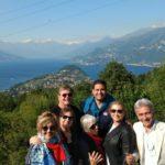 Lago di Como vista dalle montagne