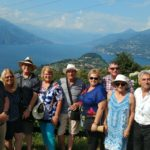 North Lake Como view from mountain