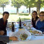 Tasting local specialties: wine & food