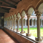 Piona Abbey: closter
