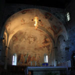 Piona Abbey: church