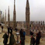 Duomo Milano terrace