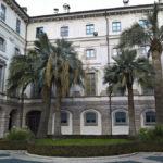 Palazzo Borromeo entrance