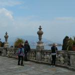 Palazzo Borromeo the terrace