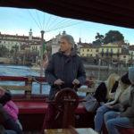 Lake Maggiore taxi boat