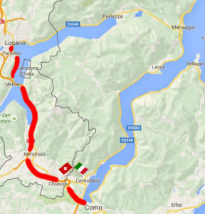 Lugano private guided tour Map1