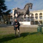 Milan Leonardo's horse