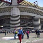 Milan San Siro Soccer Stadium