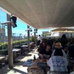 Milan lunch on terrace